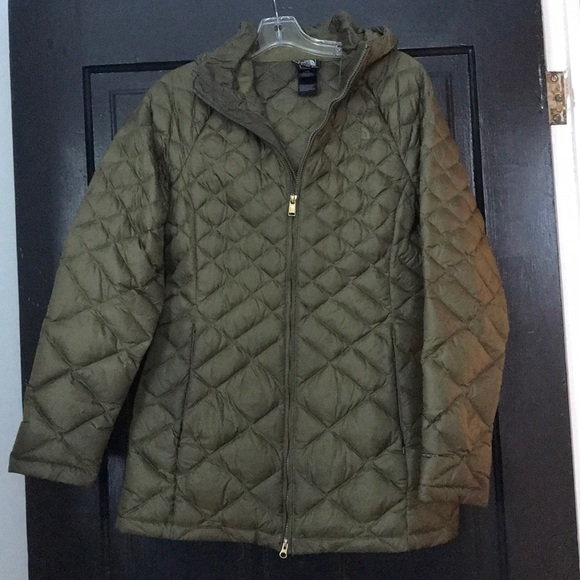 cef2d7fe3 Women's Olive Green North Face winter coat